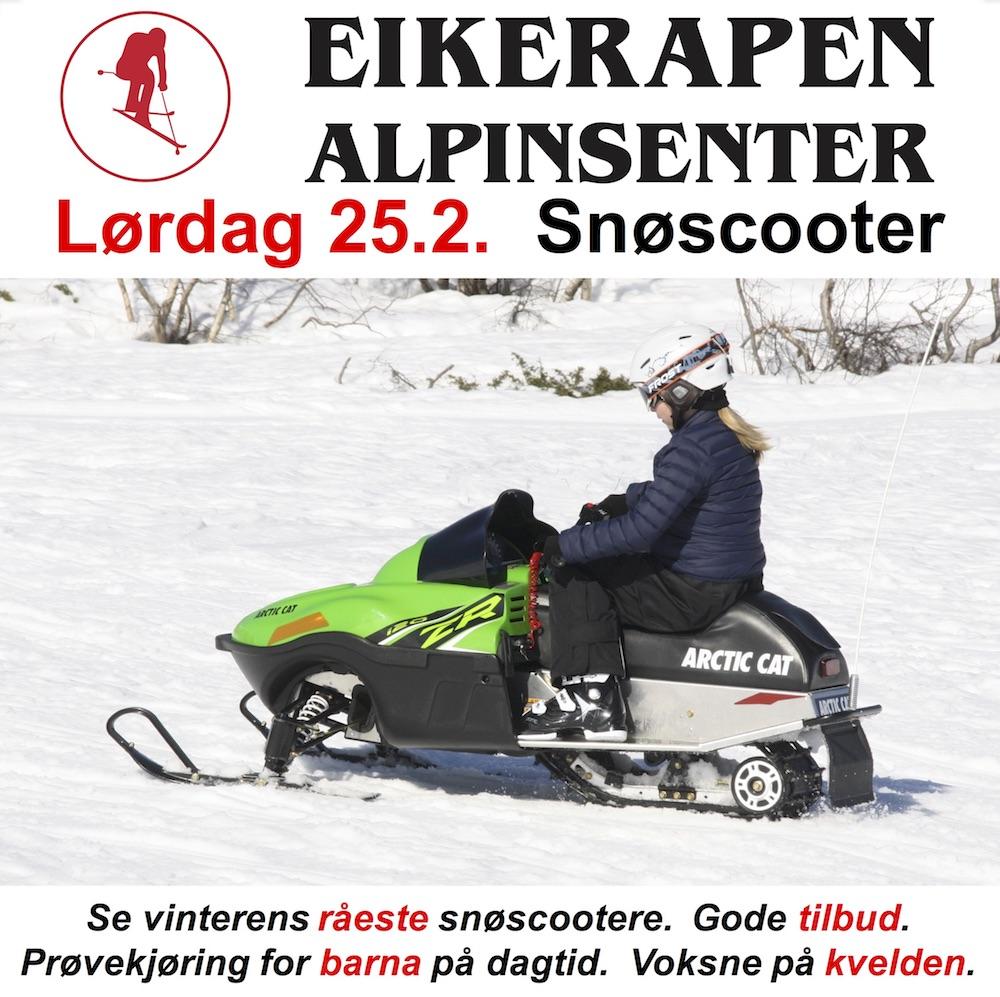 EIK 25.2 SNØSCOOTER