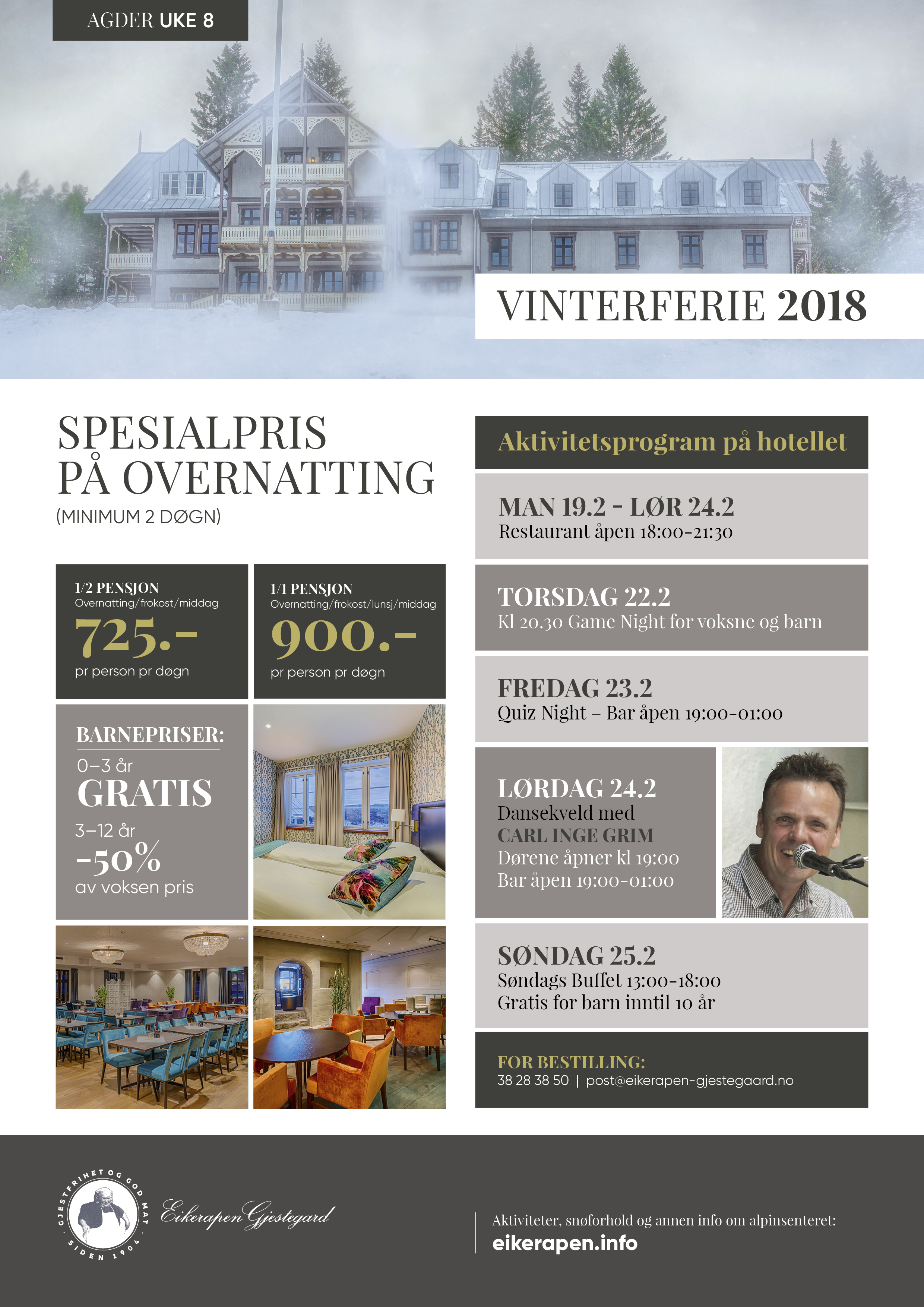 Vinterferie 2018 Agder